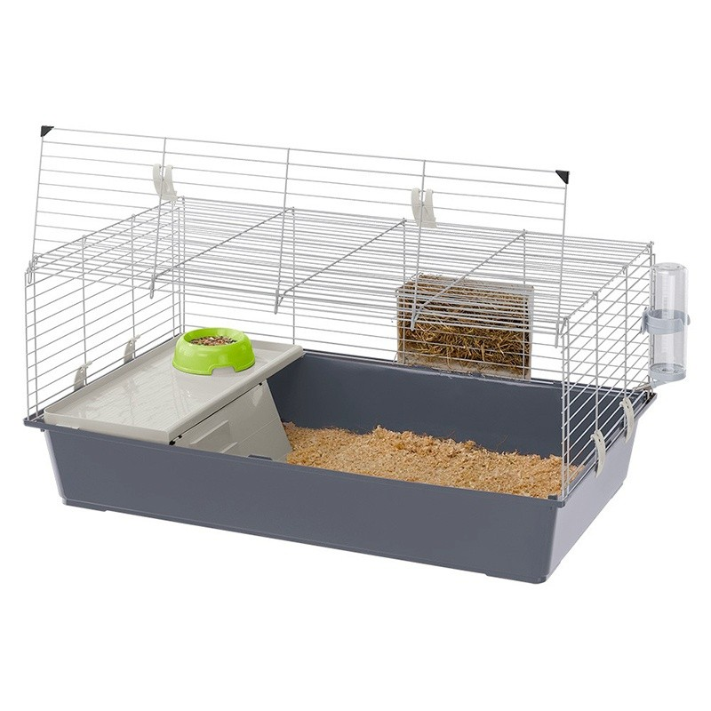 Cage Ferplast Rabbit 100 FERPLAST 8010690070735 Cage & Transport