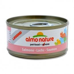Terrine pour Chat Almo Nature Legend Saumon lot de 6 ALMO NATURE 8001154007619 Boîtes, sachets pour chats
