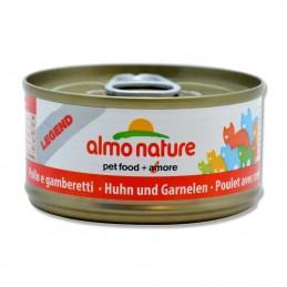 Terrine pour Chat Almo Nature Legend Poulet & Crevettes lot de 6 ALMO NATURE 8001154007589 Boîtes, sachets pour chats