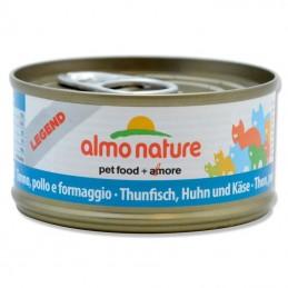 Terrine pour Chat Almo Nature Legend Thon, Poulet & Fromage lot de 6 ALMO NATURE 8001154001532 Boîtes, sachets pour chats
