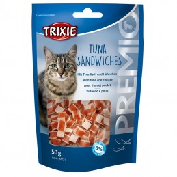 Friandise pour Chat Trixie Tuna Sandwiches