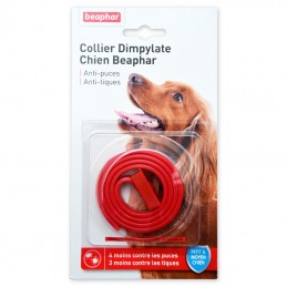 Collier anti puce Chien Beaphar Dimpylate BEAPHAR  Colliers