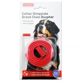 Collier antiparasitaire Grand Chien Beaphar Dimpylate BEAPHAR  Colliers