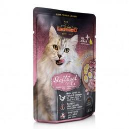 Terrine pour Chat Leonardo Volaille & Oeuf LEONARDO  Boîtes, sachets pour chats