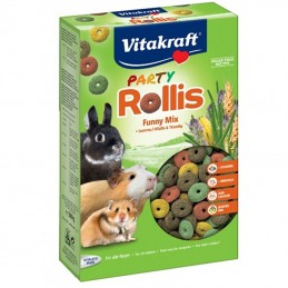 Rollis Party Friandise Pour Rongeurs Vitakraft VITAKRAFT VITOBEL 4008239252470 Friandises