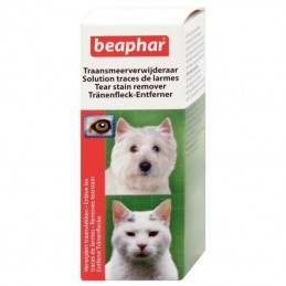 Solution traces de larmes pour chien & chat Beaphar BEAPHAR 8711231116324 Soin des oreilles, yeux, du pelage
