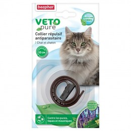 Antiparasitaire Chat Beaphar Collier réfléchissant pour chat et chaton BEAPHAR  Antiparasitaires
