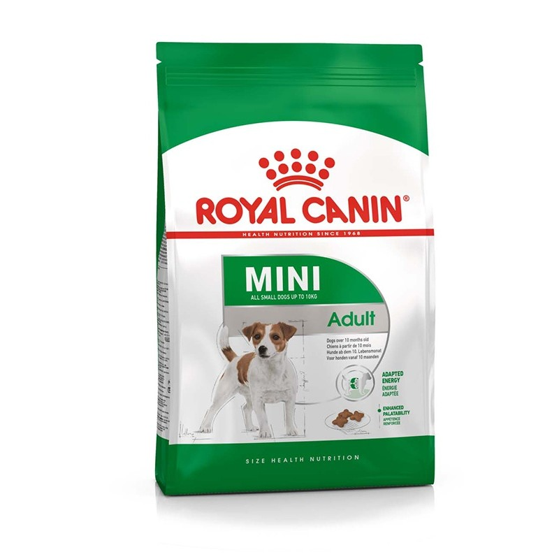 Royal Canin Mini Adult 2 kg ROYAL CANIN 3182550402170 Croquettes Royal Canin