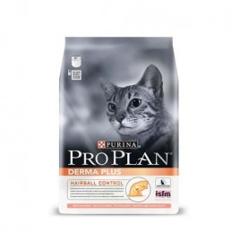 Croquettes Pro Plan DermaPlus Hairball Control saumon 3 kg PRO PLAN 7613033541469 Croquettes ProPlan
