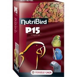 Versele Laga Nutribird P15 Tropical pour Perroquet VERSELE LAGA 5410340220368 Grande Perruche, Perroquet