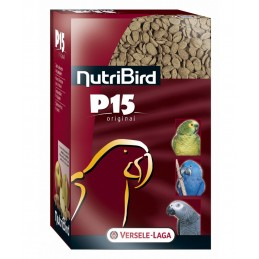 Versele Laga Nutribird P15 Original pour Perroquet VERSELE LAGA 5410340220603 Grande Perruche, Perroquet