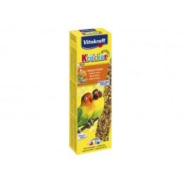 Vitakraft Kräcker petits perroquets miel & sésame VITAKRAFT VITOBEL 4008239212887 Grande Perruche, Perroquet