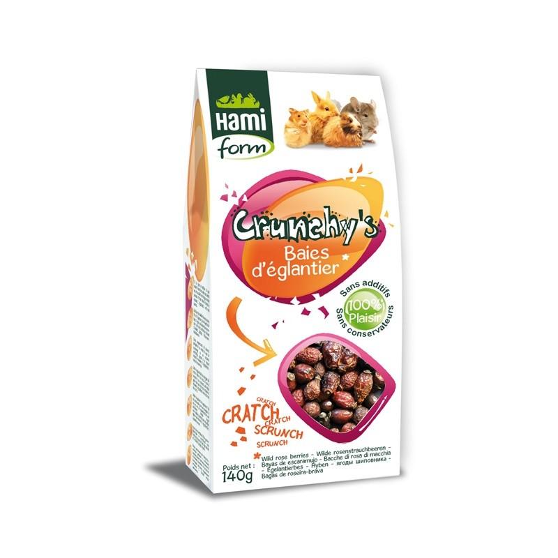 Crunchy's Baies d'églantier HamiForm HAMI 3469980003000 Rongeurs