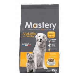Croquettes Mastery Chien Adulte Volaille 8 kg