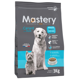 Croquettes Mastery Chien Adulte Canard 3 kg