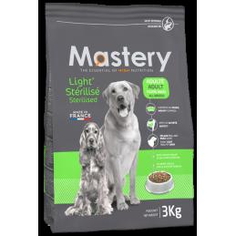 Croquettes Mastery Light & Chien Stérilisé 3 kg FRANCODEX 3336024822104 Croquettes Mastery