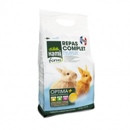 Repas Complet pour Jeune Lapin 2.5 kg Hami Form