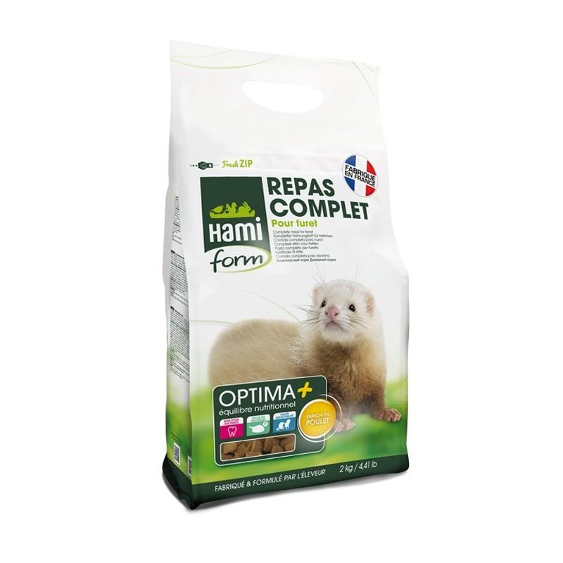 Repas Premium pour Furet 2 kg Hami Form