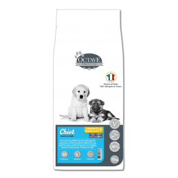 Croquettes Octave Prestige Chiot 15 kg ANIMAL FOOD DIFFUSION 3760185060882 Croquettes Octave