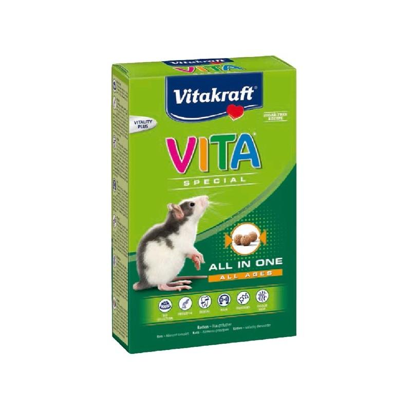 Vitakraft Vita Spécial Rats 600 g VITAKRAFT VITOBEL 4008239252333 Alimentation