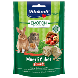 Vitakraft Emotion Muesli Cubes Fruit VITAKRAFT VITOBEL 4008239314918 Rongeurs