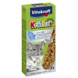 Kräcker Chinchillas Calci Fit Vitakraft VITAKRAFT VITOBEL 4008239250629 Friandises