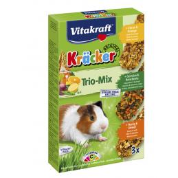 Kräcker Cochon d'Inde Trio Mix Vitakraft VITAKRAFT VITOBEL 4008239252265 Friandise & Complément