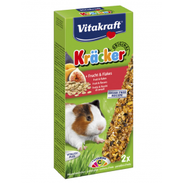 Kräcker Fruit & flocons Cochons d'Inde Vitakraft VITAKRAFT VITOBEL 4008239251558 Friandise & Complément