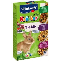 Kräcker Trio-Mix Lapins nains Vitakraft VITAKRAFT VITOBEL 4008239252272 Friandise & Complément
