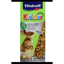 Kräcker Herbal Active Lapins nains Vitakraft VITAKRAFT VITOBEL 4008239253408 Friandise & Complément