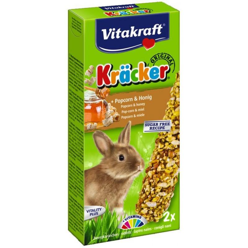 Kräcker Popcorn & miel Lapins nains Vitakraft VITAKRAFT VITOBEL 4008239251572 Friandise & Complément