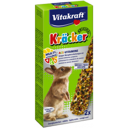Kräcker Mutli-vitamines Lapins nains Vitakraft VITAKRAFT VITOBEL 4008239302977 Friandise & Complément