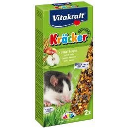 Kräcker Rat épeautre & pomme Vitakraft VITAKRAFT VITOBEL 4008239251404 Friandise & Complément