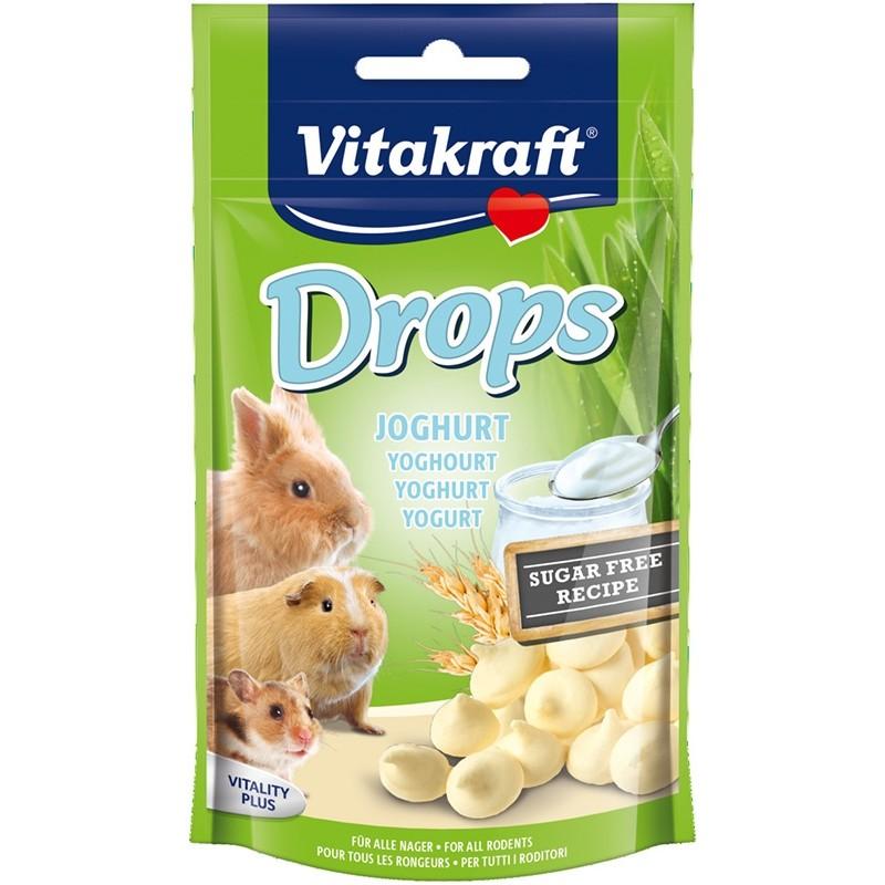 Vitakraft Drops goût Yaourt VITAKRAFT VITOBEL 4008239257895 Rongeurs