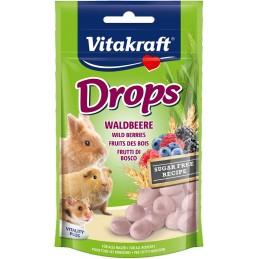 Vitakraft Drops goût Fruits des bois VITAKRAFT VITOBEL 4008239257871 Rongeurs