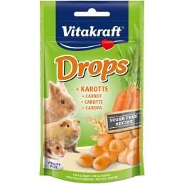 Vitakraft Drops goût Carotte VITAKRAFT VITOBEL 4008239257888 Rongeurs