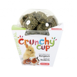 Zolux Crunchy Cup Luzerne & Carotte ZOLUX 3336022092578 Rongeurs