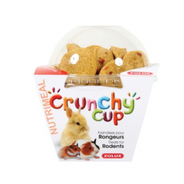 Zolux Crunchy Cup Nature & Carotte ZOLUX 3336022092516 Rongeurs