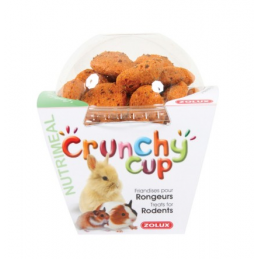 Zolux Crunchy Cup Carotte & Lin ZOLUX 3336022092523 Rongeurs