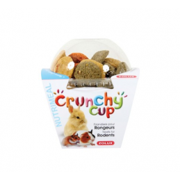 Zolux Crunchy Cup Nature & Carotte & Luzerne ZOLUX 3336022092547 Rongeurs