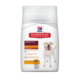 Hill's Adult Light Large Breed 18 kg HILL'S 052742296005 Croquettes Hill's