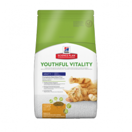 Hill's Feline Adult 7+ Youthful Vitality Poulet & Riz 250 g