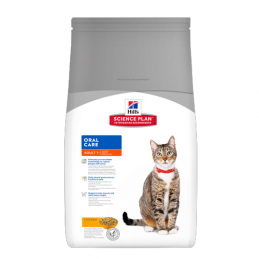 Hill's Feline Adult Oral Care Poulet 1,5 kg