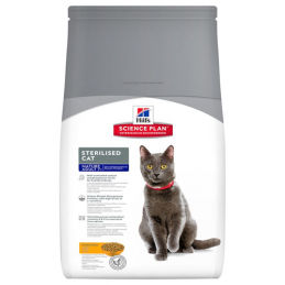 Hill's Feline Sterilised Mature Adult 1.5 kg HILL'S 052742935300 Croquettes Hill's