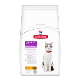 Hill's Feline Senior 11+ Poulet Healthy Ageing 2 kg HILL'S 052742223209 Croquettes Hill's