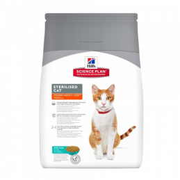 Hill's Feline Sterilised Young Adult Thon 3.5 kg HILL'S 052742935508 Croquettes Hill's
