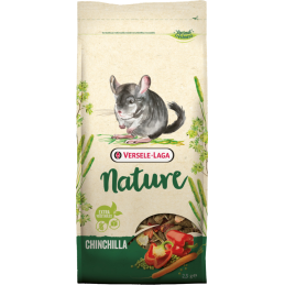 Chinchilla Nature 2,3 kg Versele Laga VERSELE LAGA 5410340614143 Alimentation