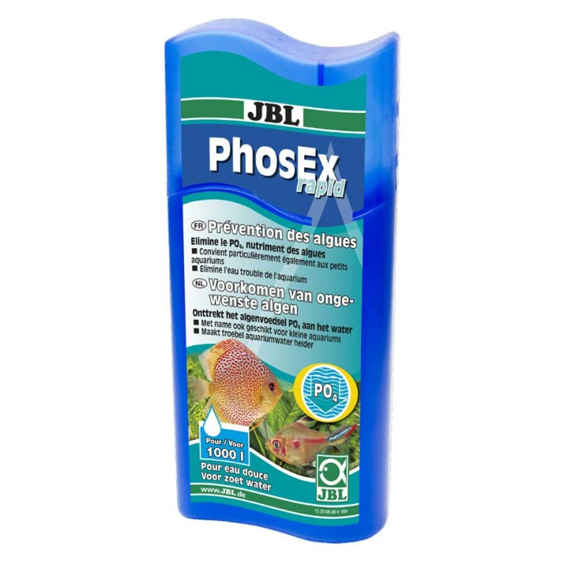 JBL PhosEx Rapid JBL  Bactéries, conditionneurs d'eau