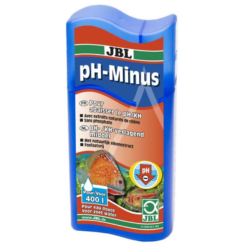 JBL PH Minus (100 mL) JBL 4014162014344 Bactéries, conditionneurs d'eau