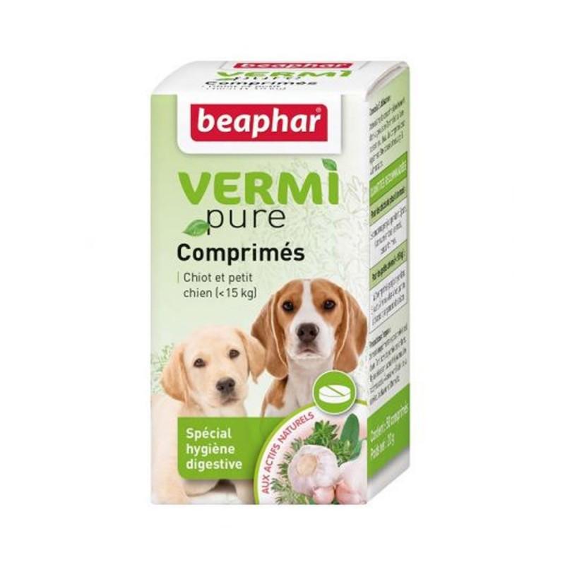 Vermi Pure pour chiot et petit chien Beaphar
